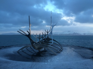 View Point, Viking Boat Sculpture, Reykjavik