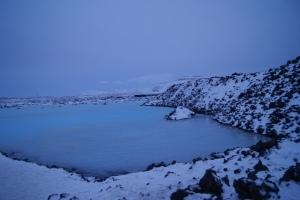 Blue Lagoon at night