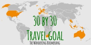 TRAVEL GOAL 30 BY 30