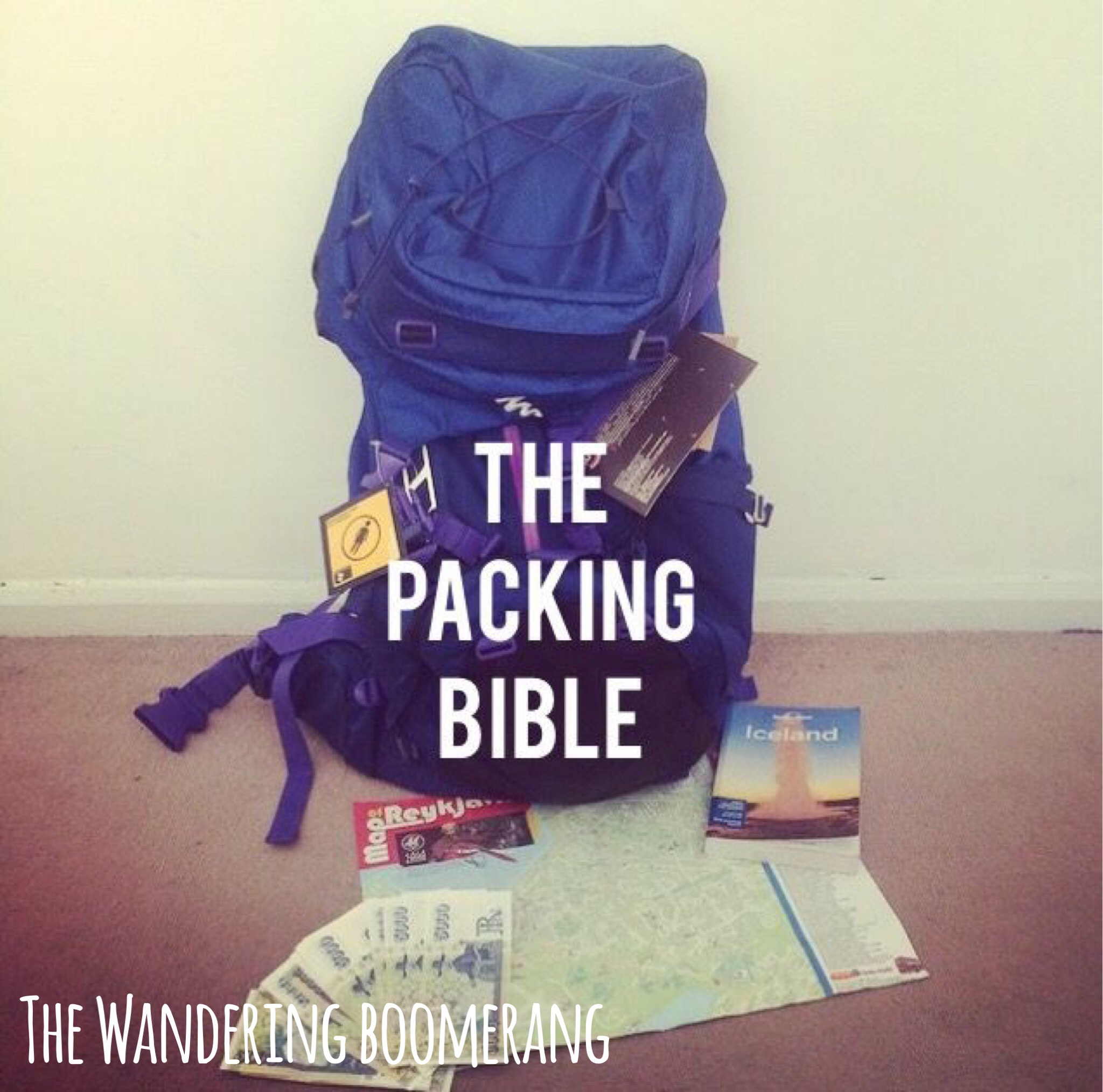 PACKING BIBLE