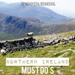 mourne mountains, northern Ireland, thewanderingboomerang