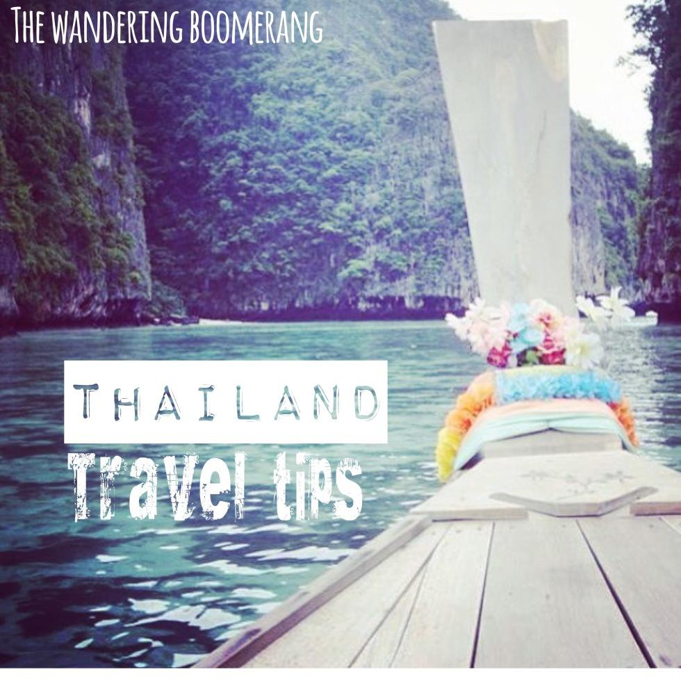 thailand travel tips, www.thewanderingboomerang.com